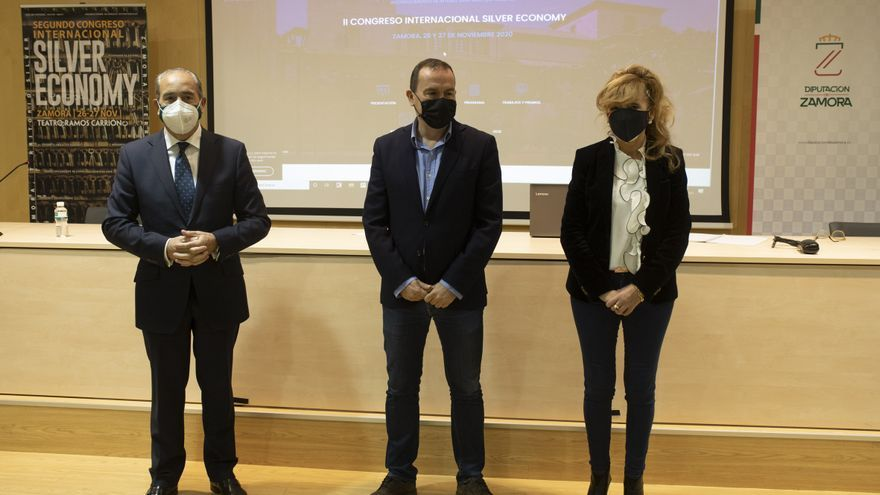 "Margarita del Val se incorpora al congreso de ""silver economy"" de Zamora"