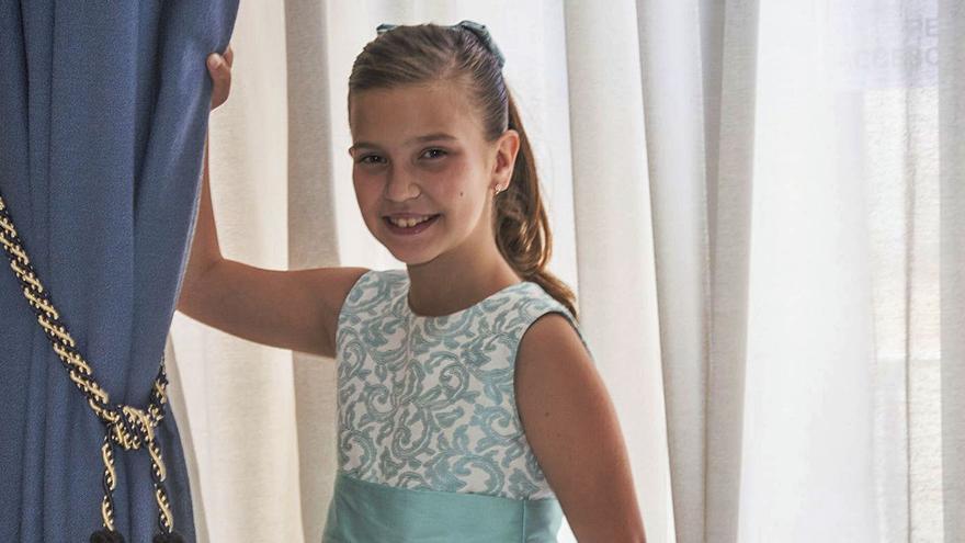Valeria Gómez Villaescusa: «Mi abuelo me apuntó y desfilé la primera vez con apenas 1 año»