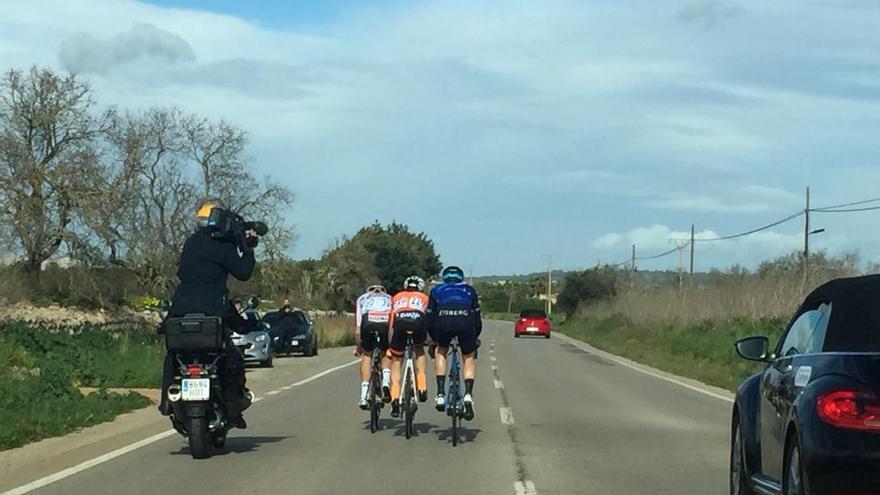 La Challenge Vuelta a Mallorca modifica su recorrido de hoy sábado