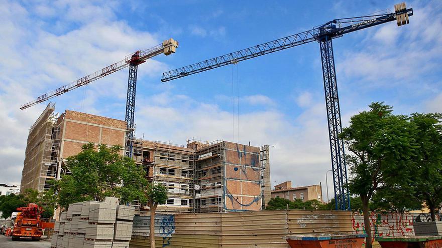 Los proyectos de nuevas viviendas se reducen en Mallorca por primera vez desde 2014