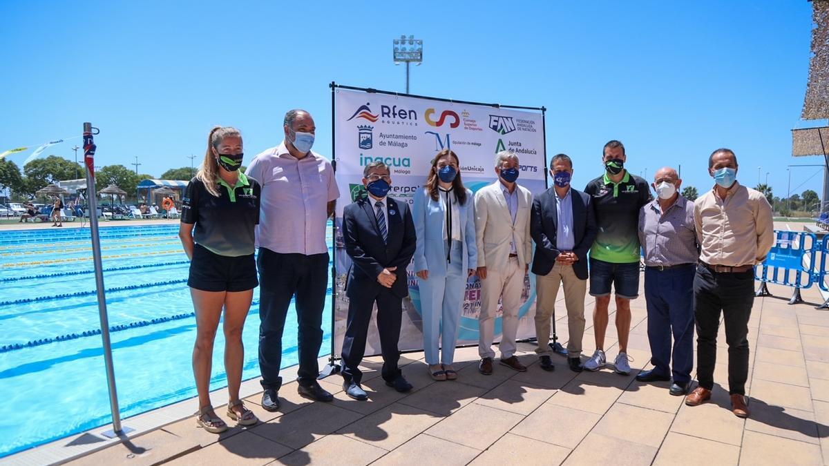 Acto de presentación del Campeonato de España infantil de waterpolo en Inacua.