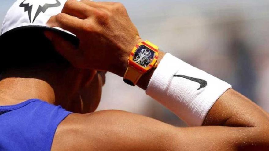 Rafa Nadal guanya la batalla de l'ostentació amb el seu rellotge de 800.000 euros