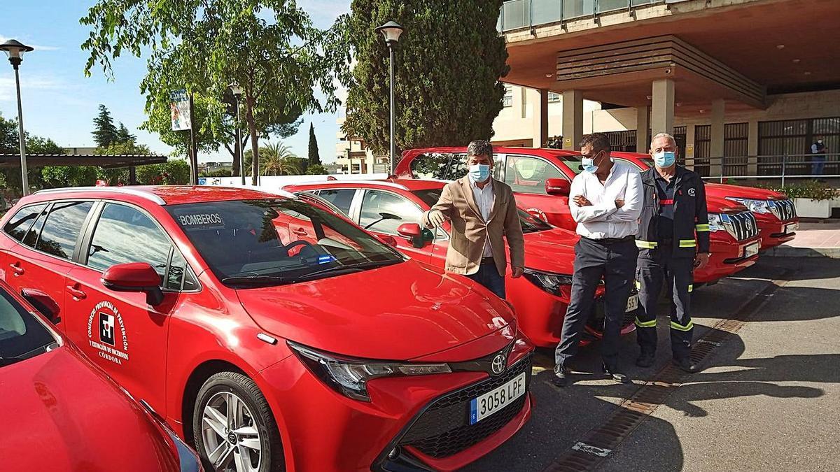 El Consorcio de Bomberos invierte 200.000 euros en mejorar la flota de vehículos