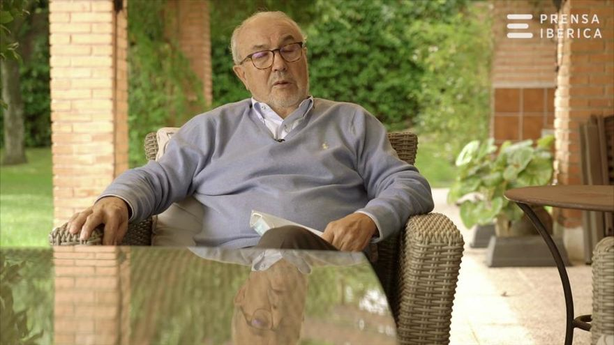 Entrevista al exministro Pedro Solbes, comisario europeo de Economía cuando se introdujo el euro