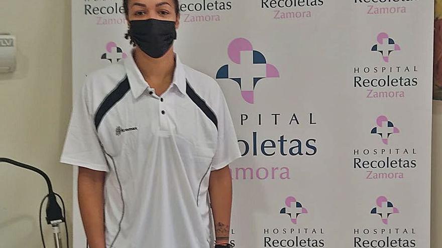 Chelsea Waters ya trabaja con el Recoletas Zamora