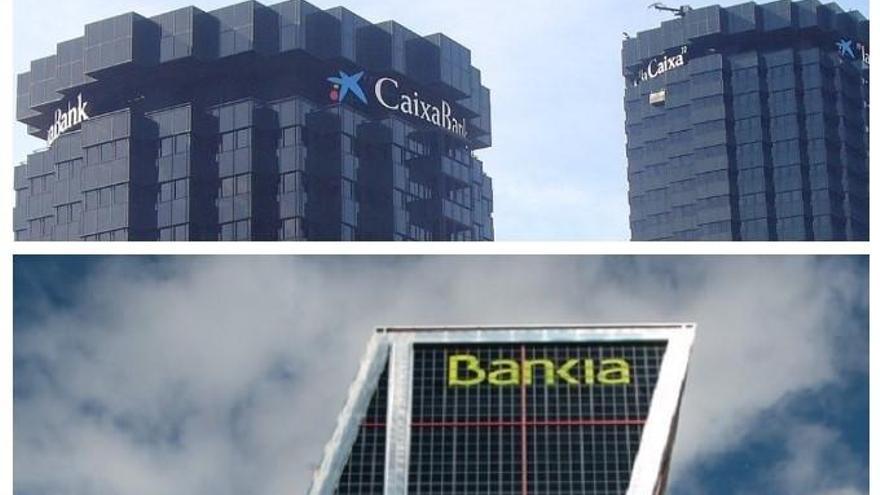 Els Consells de CaixaBank i Bankia donen llum verda a crear el primer banc d'Espanya