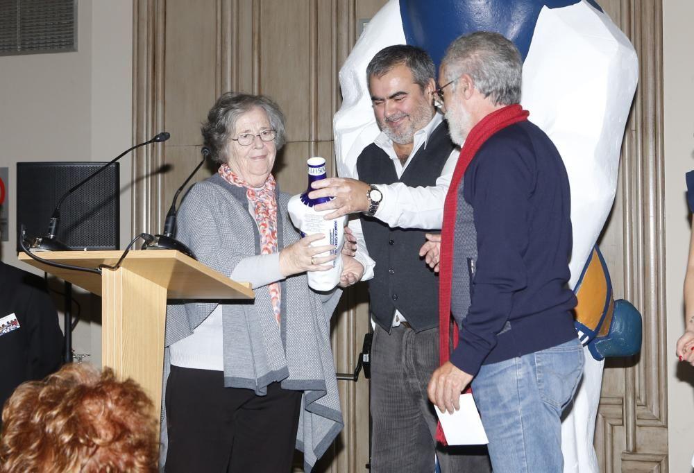 Los galardones fueron entregados esta tarde en el Pazo Los Escudos de Vigo