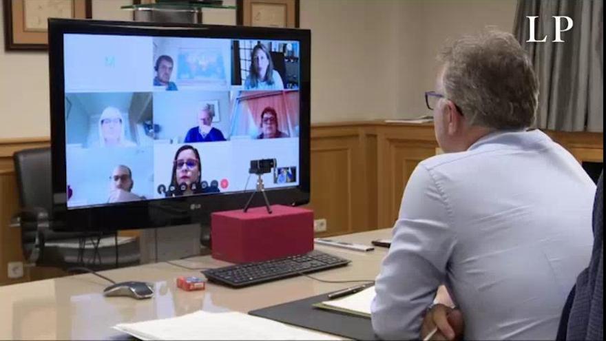 Coronavirus en Canarias| Reunión del presidente canario con Jet2