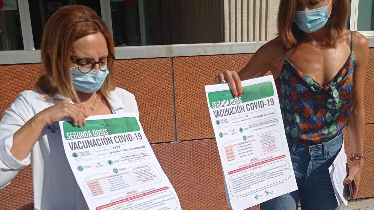 Clara San Damián anuncia nuevas vacunaciones en Zamora.