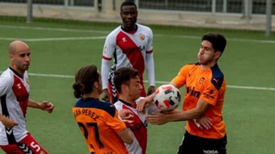 El Valencia Mestalla, ni victoria ni honor