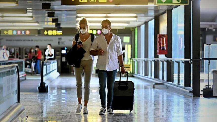 La llegada de turistas cae un 90,2% en noviembre