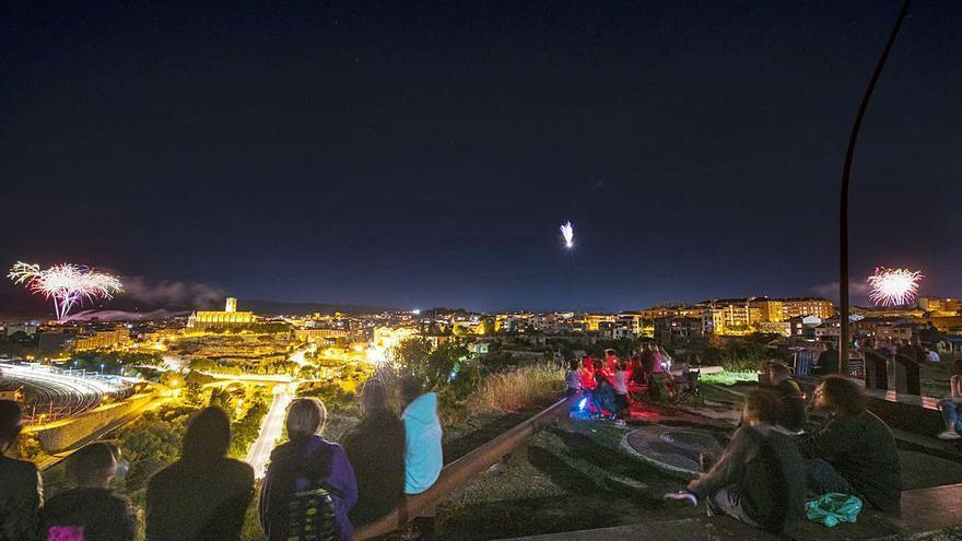L'Ajuntament de Manresa treballa amb la idea de repetir un castell de focs descentralitzat