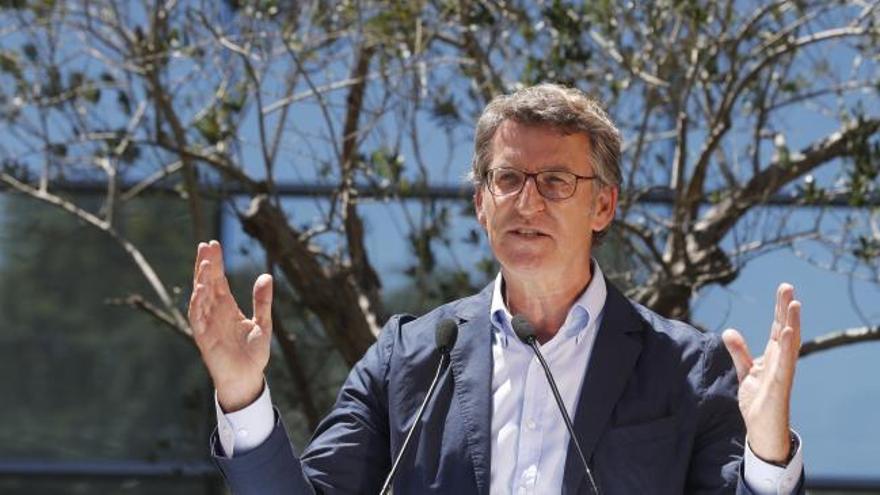 """Feijóo a Sánchez: """"Entienda el resultado del 12-J y respete, apoye y trabaje con Galicia"""""""