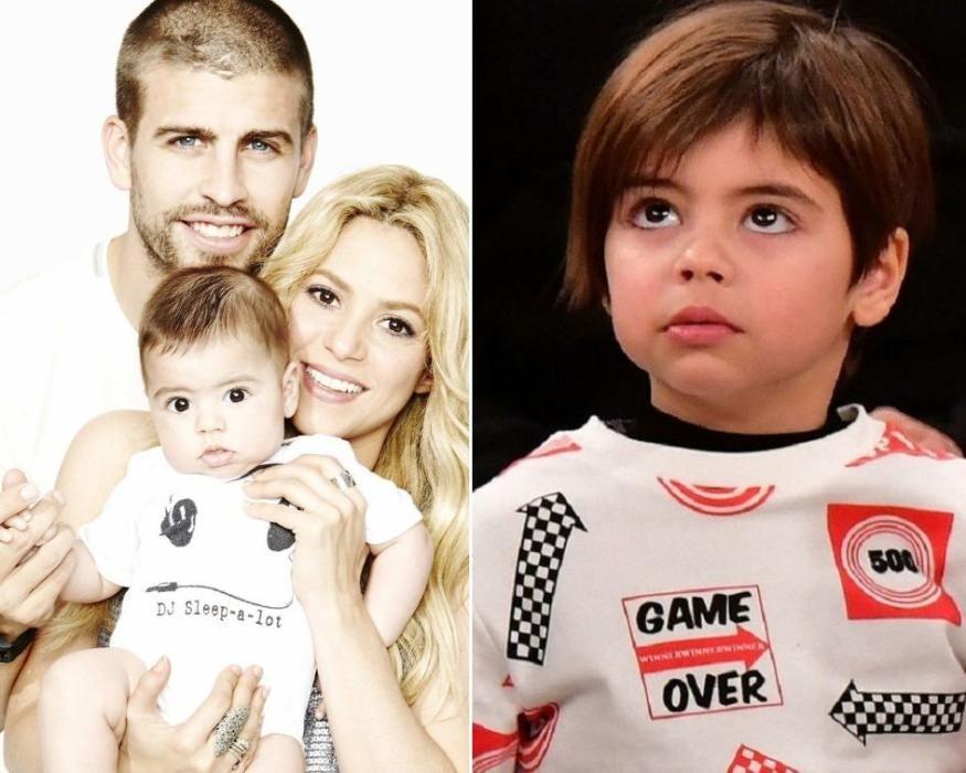 Uno de los hijos de Gerard Piqué y Shakira.