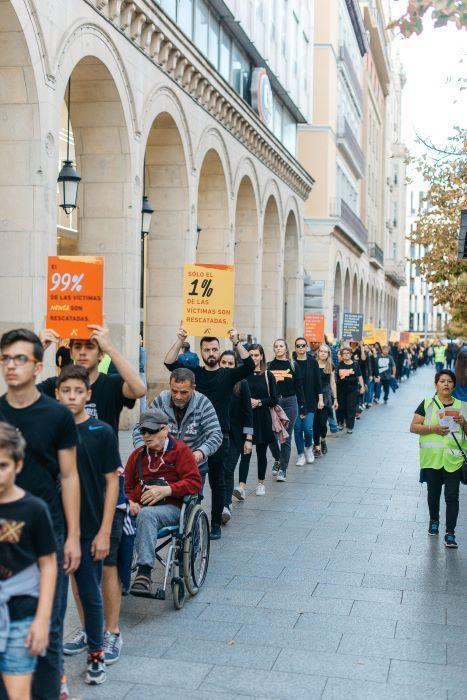 Caminando por la libertad, en el 2019, en Zaragoza