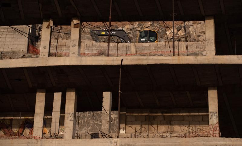 Construcción de complejos turísticos en Los Gigantes.