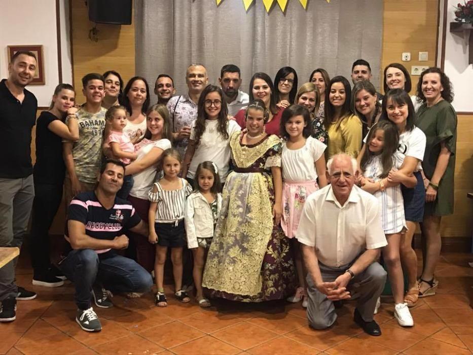 Avenida Campanar-Hipólito Rovira animó en el casal a Nerea.
