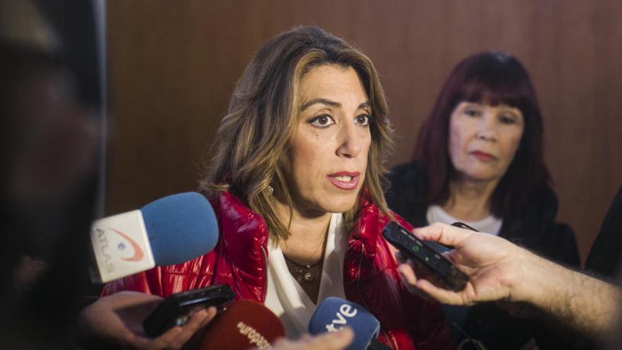 La crisis estalla en el PSOE de Sevilla en pleno debate sobre la continuidad de Susana Díaz