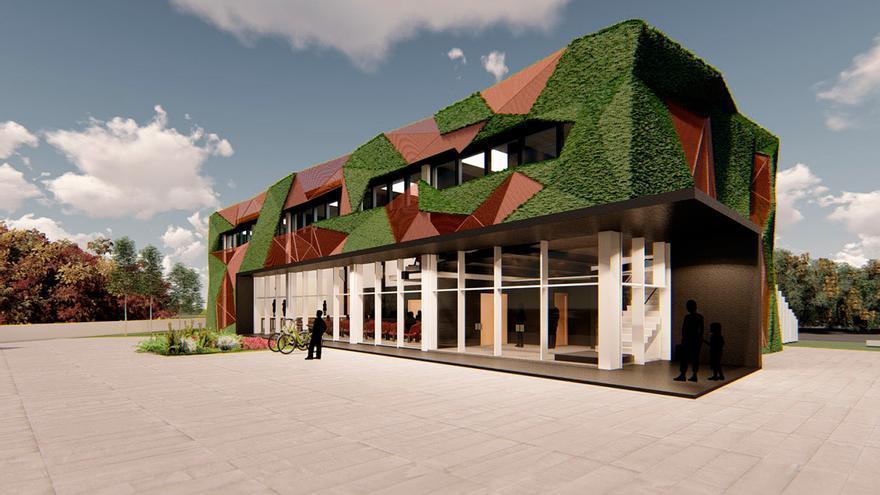 El Concello convertirá un edificio de la vieja EDAR de Coruxo en un auditorio multiusos