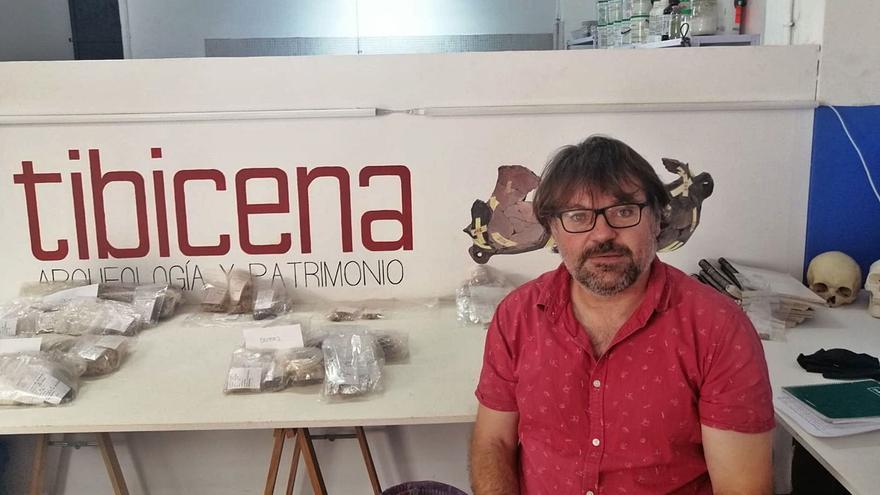 """Marco A. Moreno Benítez : """"La Fortaleza es el gran espejo donde se puede mirar la arqueología de  Gran Canaria"""""""