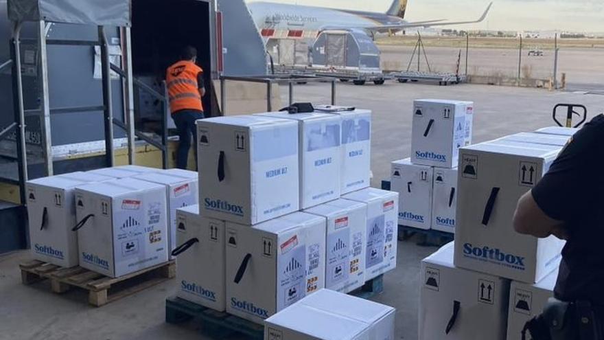 Llegan 161.000 nuevas dosis de la vacuna a la Comunitat Valenciana