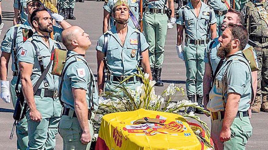El juez procesa a cuatro mandos militares por encubrir la muerte de un legionario en Agost