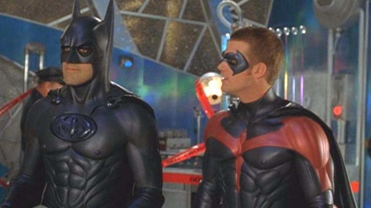 George Clooney protagonizó 'Batman y Robin'.