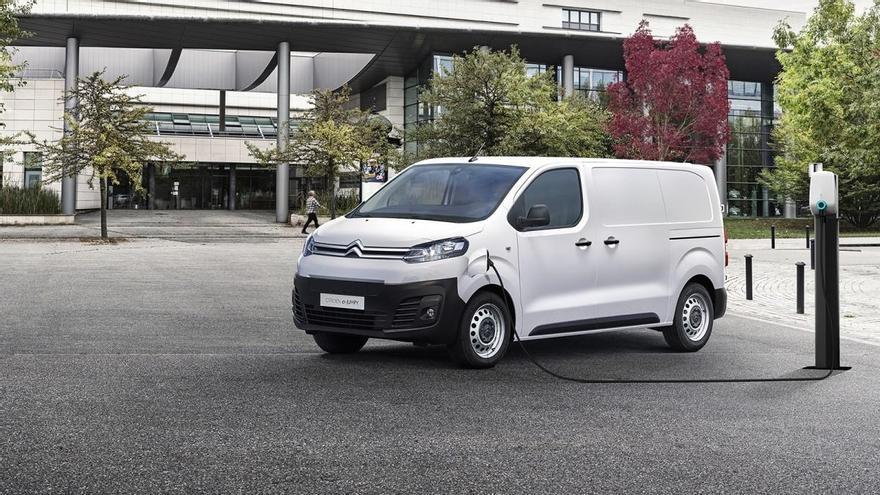 Citroën presenta la ë-Jumpy, que llegará con dos opciones de batería y hasta 300 kilómetros de autonomía