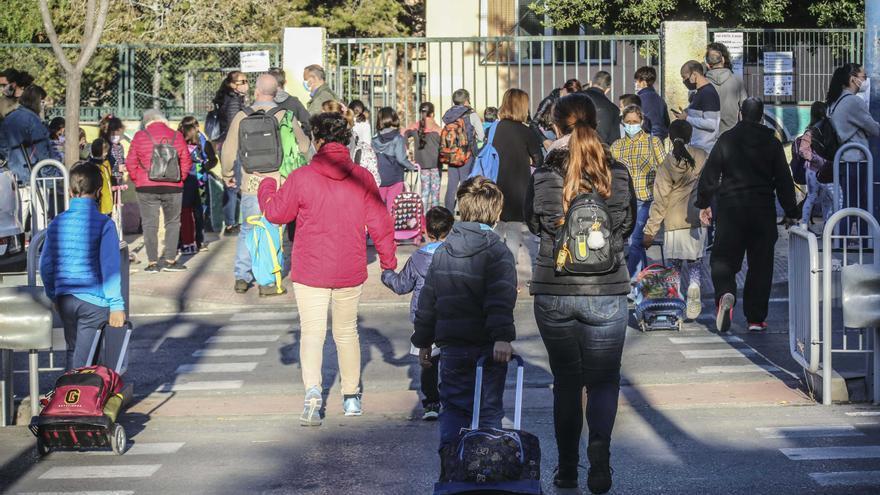 La petición de plaza en colegios de la Comunidad Valenciana arranca el 25 de mayo