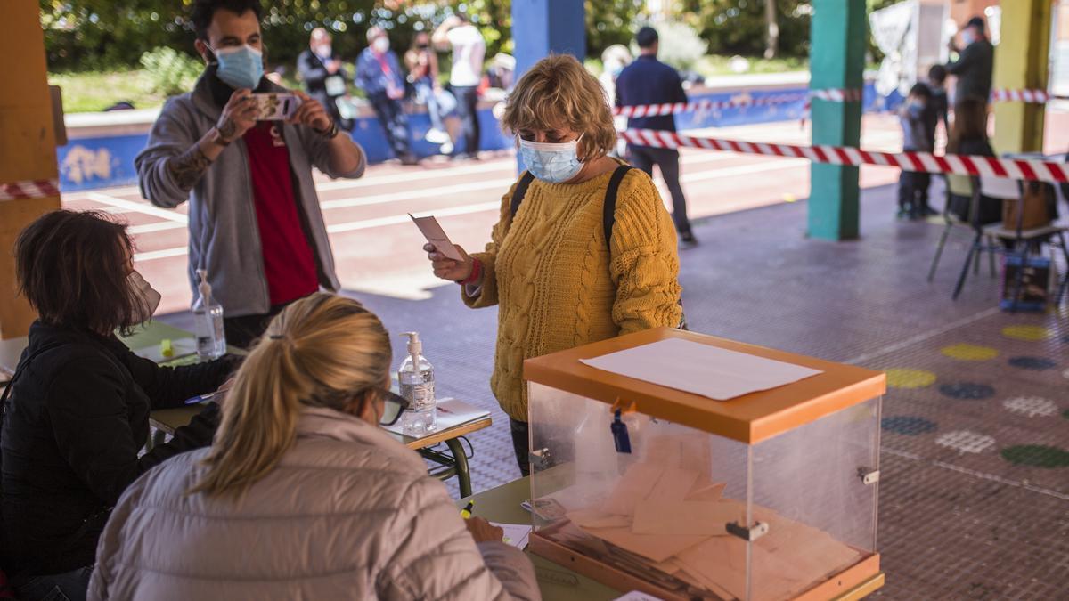 Los madrileños acudieron en masa a las urnas