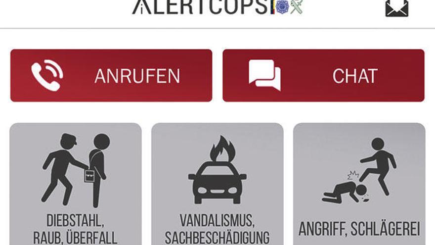 Per Handy-App auf Mallorca die Polizei alarmieren