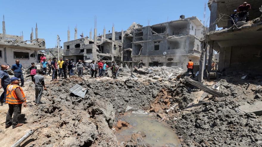 Israel bombardeja Gaza per terra i aire en el major atac des de l'inici dels enfrontaments