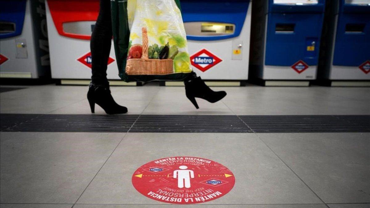 Metro de Madrid ampliará el control de aforo automático a todas las estaciones de la red