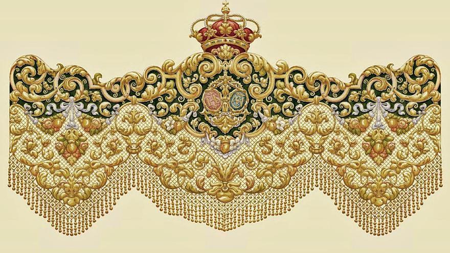 La Esperanza aprueba el diseño del nuevo palio de su titular mariana