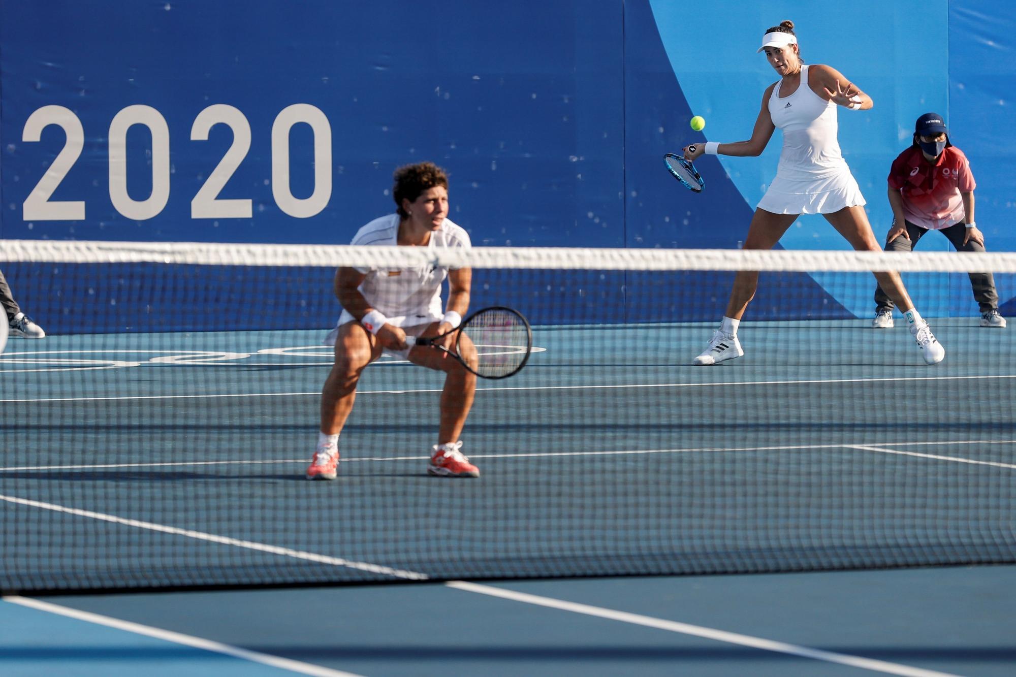 Carla Suárez y Muguruza debutan con victoria en los Juegos Olímpicos de Tokyo