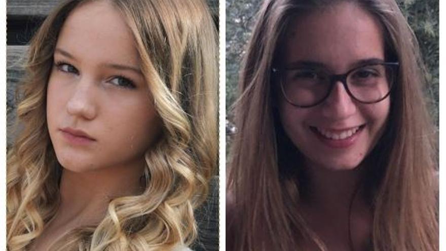 Veranika Ramanchukhan i Emma Martí, de les Escolàpies, finalistes d'un concurs sobre Europa