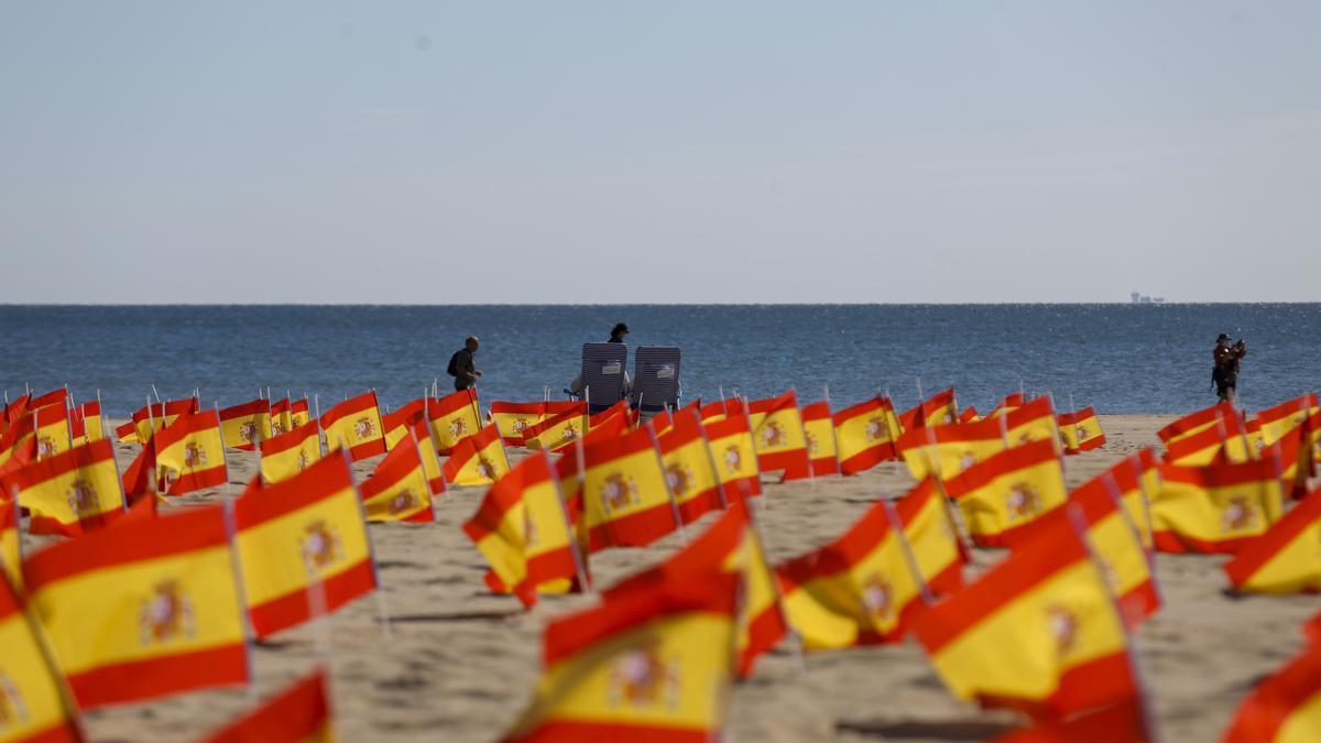 Repercusión de banderas de España