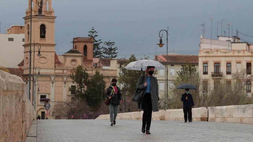 Aemet prevé lluvias intensas en Valencia para el fin de semana