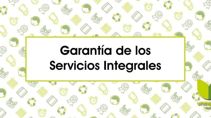 Unexport: Garantía de servicio integral