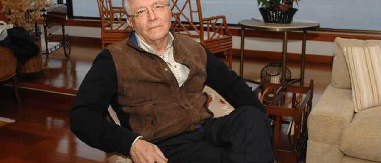 Gaspar Cabrera Roca, el pasado jueves durante la entrevista.