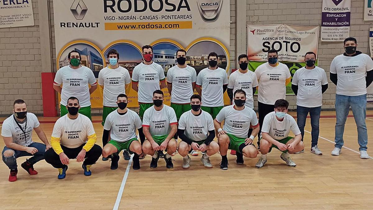 Mensaje de ánimo del Rodosa Chapela a Fran Teixeira | FDV