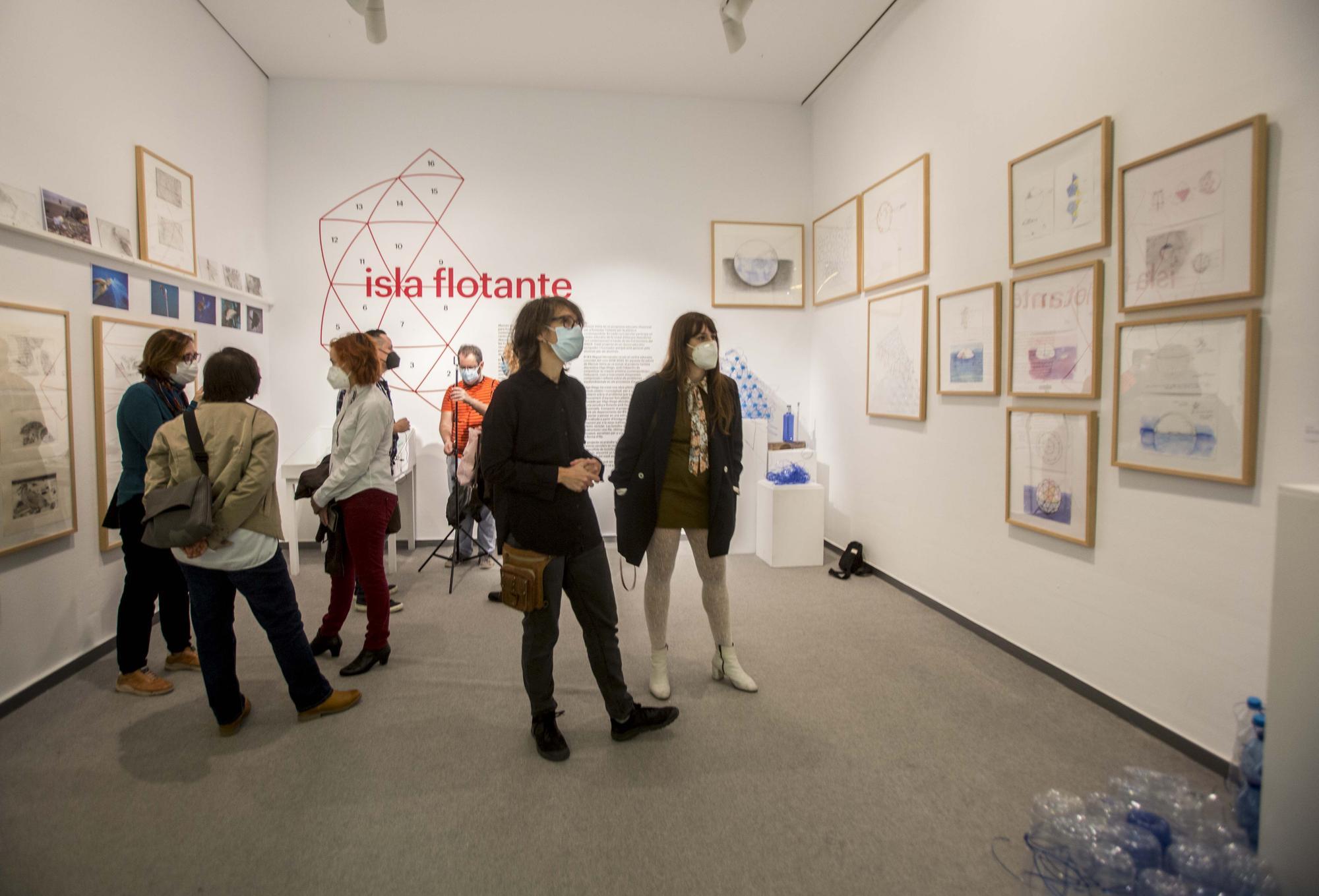 """Proyecto """"Isla flotante"""" de Olga Diego en el MACA"""
