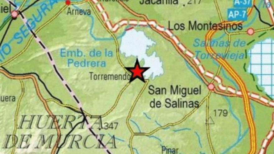San Miguel de Salinas registra un pequeño terremoto