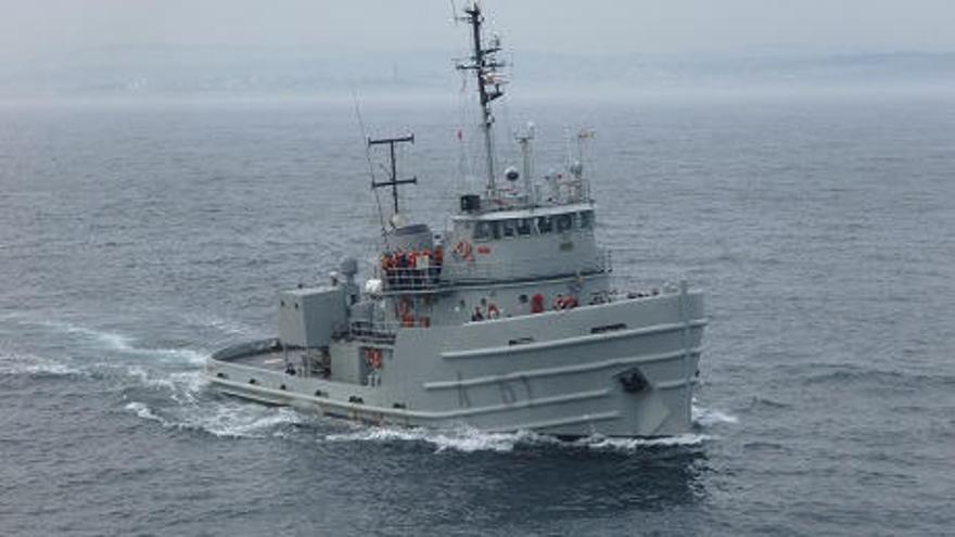 """El remolcador """"Mahón"""" de la Armada hará escala en Avilés y abrirá al público"""