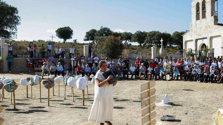 Uno de los actos de homenaje celebrados en memoria de Argusino.