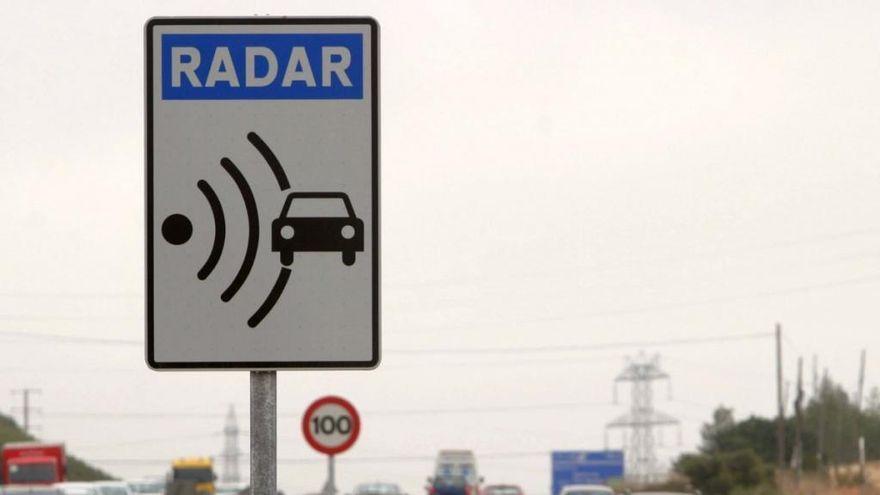 Un radar de Tenerife, entre los que más multan en las carreteras de España
