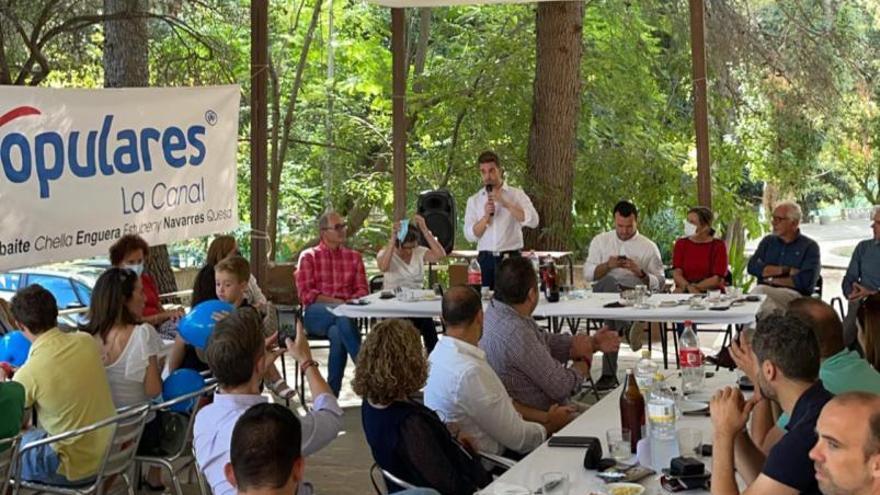 El primer almuerzo comarcal del PP reúne a 200 personas en Anna