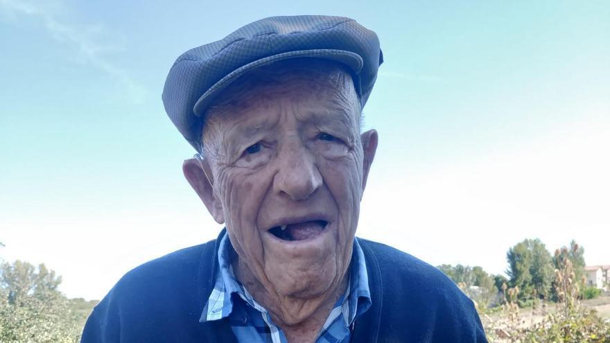 """El abuelo de Aliste, Manuel Gago: """"Para crisis la que viví yo en la Guerra Civil"""""""