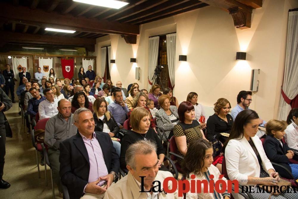Presentación Reyes Cristianos en Caravaca
