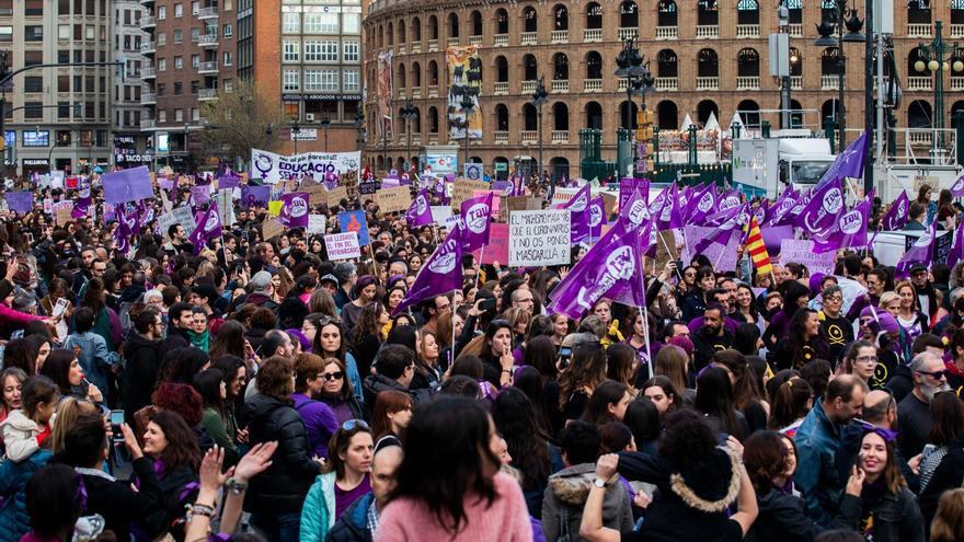 8M: Manifestaciones, horario y recorrido en el Día de la Mujer en València